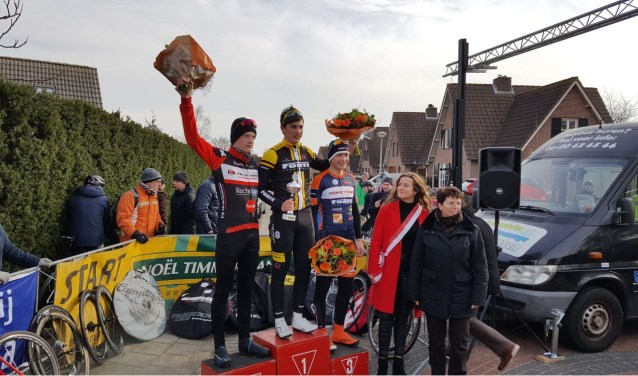 Podium junioren Woensdrecht 2018