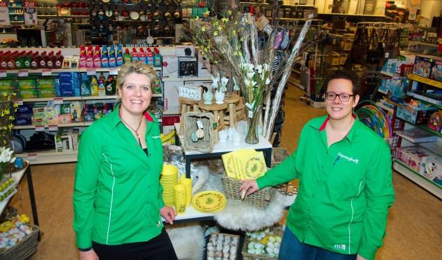 Heidi Kok (links) en Marijke Fleming van Marskramer Laren. (Foto: Gert Perdon)