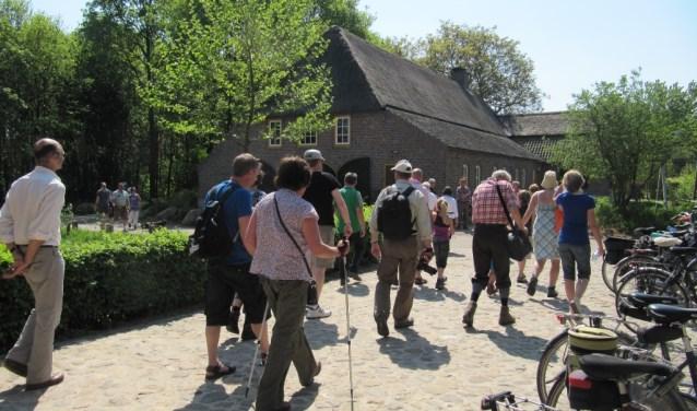 Op Landgoed Tongelaar worden op maandag 2 april wandelexcursies gehouden.