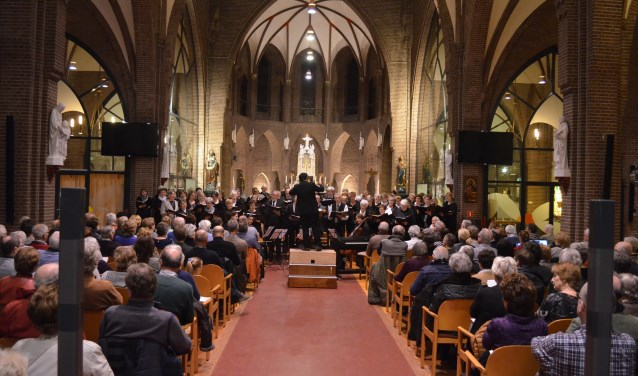 Het was genieten voor iedereen, zaterdag in de RK-kerk van Montfoort. (Foto: Cultureel Montfoort)