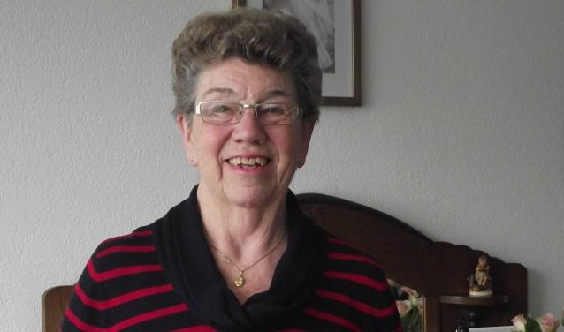 Marianne Tops: mevrouw Jamin van Cuijk. (foto: eigen foto)