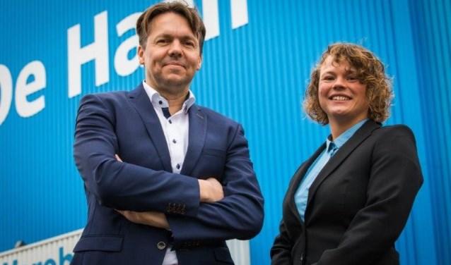 Wouter Hijzen en Madeline van der Rhee. (Foto: Privé)
