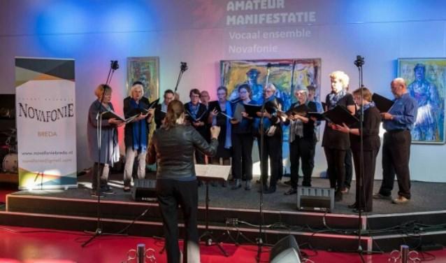 Vocaal Ensemble Novafonie is een Bredaas a capella kamerkoor, dat momenteel bestaat uit ruim 20 enthousiaste zangeressen en zangers.
