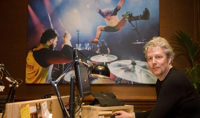 Peter Sanders is samen met Chris Seijkens festivaldirecteur van Paaspop en met een topteam het hele jaar doende om het festival in kannen en kruiken te krijgen.Foto: Jan Forman