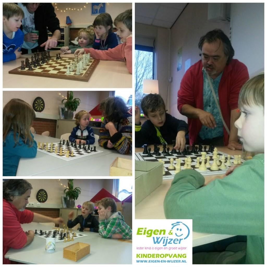 schaakles jeugd
