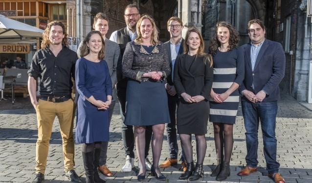 Kandidaten VVD Nijmegen.