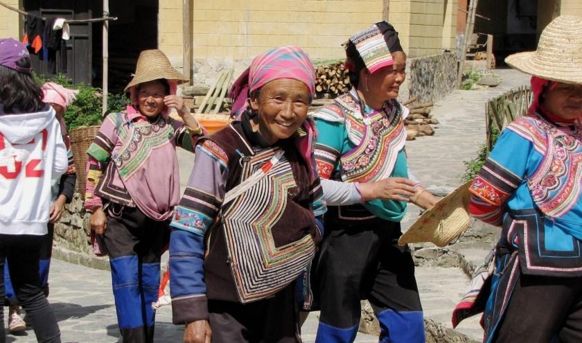 Aly en Cees Wagenvoorde bezoeken Azië al jaren achtereen. Aly komt hier op 4 april over vertellen in Ruurlo. Eigen foto.