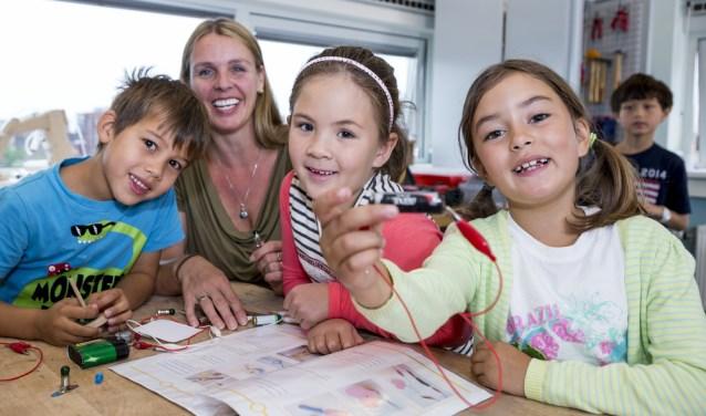 Techniek op school is samen ontdekken en uitvinden. (Foto: Timon Jacob)