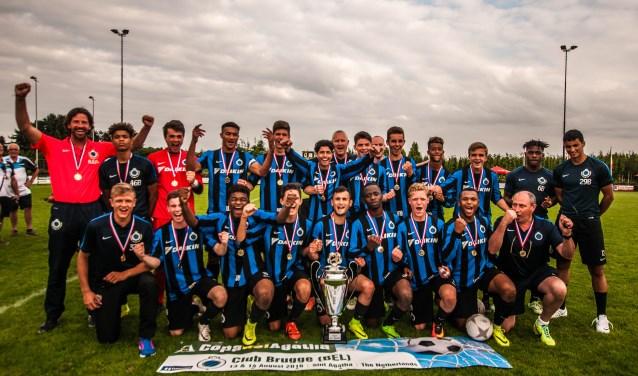 Club Brugge won de Copa del Agatha in 2017. (foto: persfoto)