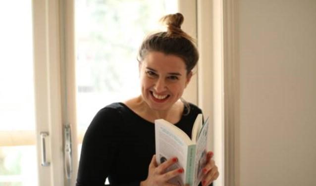 Maartje Willems presenteert haar boek: Vanaf nu wordt alles beter. (foto: Lies Journée)