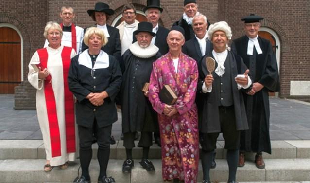 De protestantse gemeenten van Losser en Glanerbrug houden op woensdag 14 maart een bijzondere modeshow: ze showen de kleding die predikanten sinds de reformatie droegen.