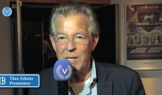 Presentator Theo Erkens.