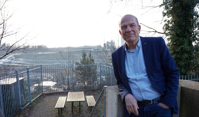 """WB-lijsttrekker Wim Aalderink bij de Steengroeve: """"We hebben hier iets unieks in handen. Terra Temporalis wordt een geweldige voorziening met een enorme spin-off in de toekomst."""""""