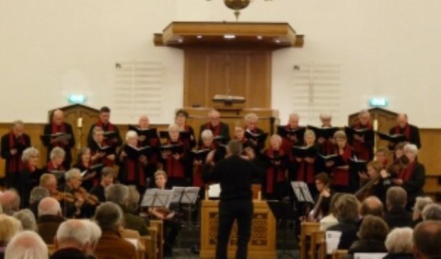 Eén van de velen uitvoeringen van het Bennekoms Vocaal Ensemble