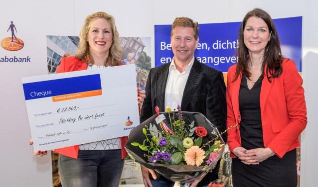 De stichting Bo viert Feest uit Veenendaal kreeg 22.500 euro.