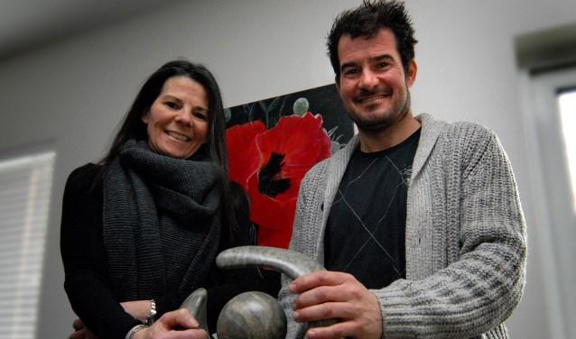 Anthony Vogels en Rianne Koolen hebben een hechte band, zeker na de nierdonatie. (foto: Tom Oosthout)