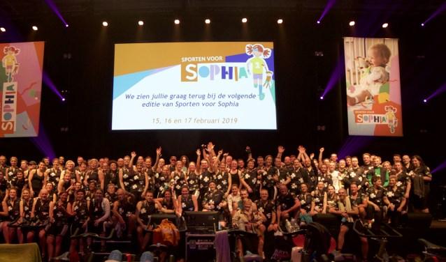 Met 119 deelnemers was het fietsbedrijf More Than Cycling uit Zwijndrecht opnieuw het grootste team.