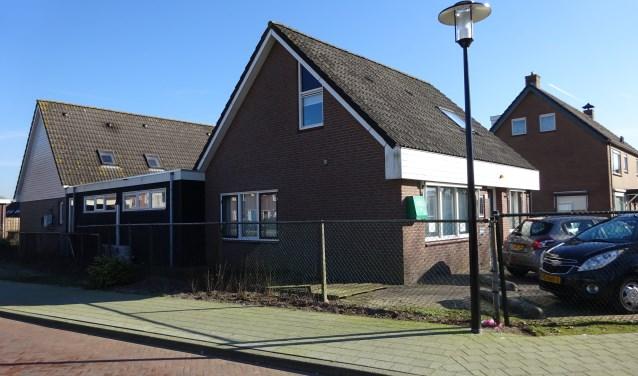 Het pand Westerveenstraat 46 in Nijkerkerveen. (Foto: Yvonne Krol)