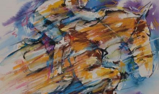 Werk van Piet Kouwenhoven.