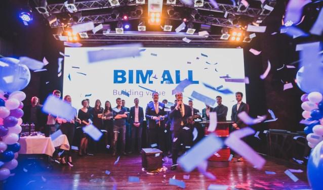 Het vijfjarig bestaan van BIM4ALL werd groots gevierd.