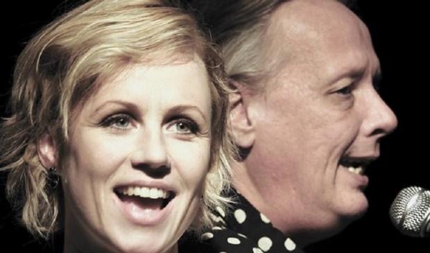Dorien Haan en Johan Hoogeboom. Eigen foto