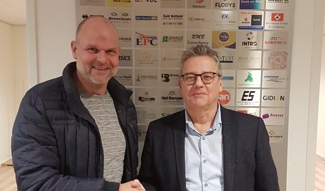 Maritiem aannemingsbedrijf Simon BV is toegetreden tot de businessclub van Sliedrecht Sport. (Foto: Privé)
