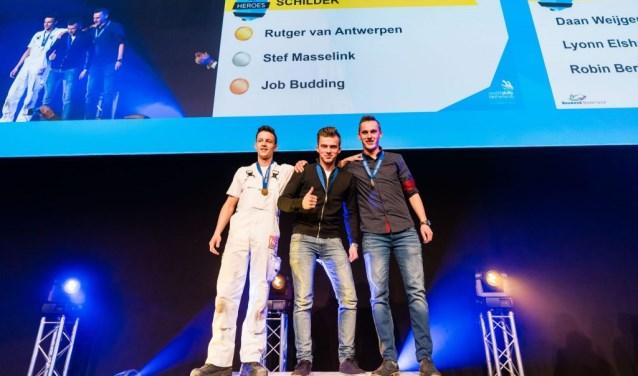 Rutger van Antwerpen mocht de gouden medaille in ontvangst nemen.