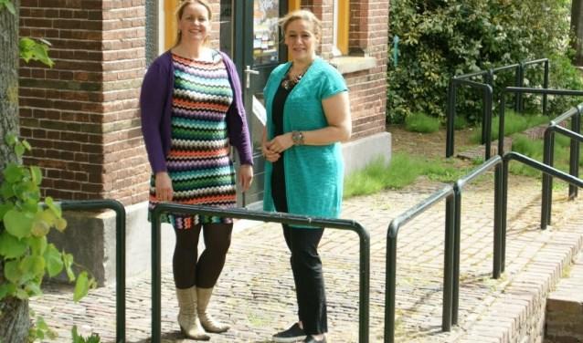 Annette Jacobs en Christel Heijmans.