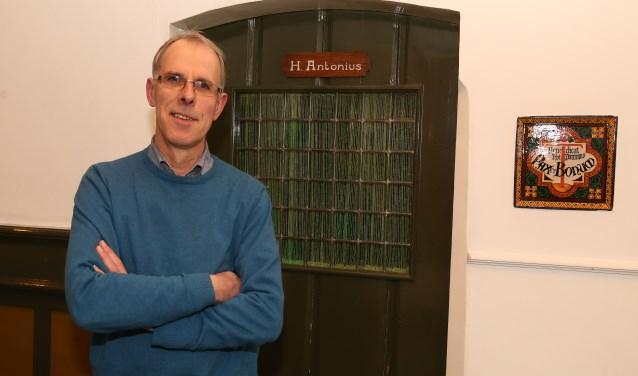 """Mark van der Linden: """"We willen iedereen kennis laten maken met het nieuwe Emmausklooster."""" (foto Marco van den Broek)."""