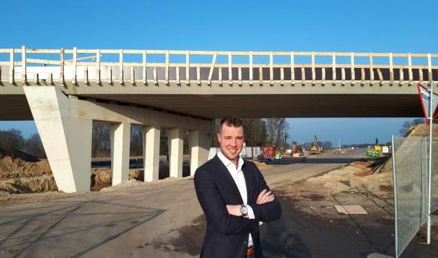 """Maikel van der Neut: """"Vernieuwen doe je door bruggen te bouwen tussen inwoner en overheid."""""""