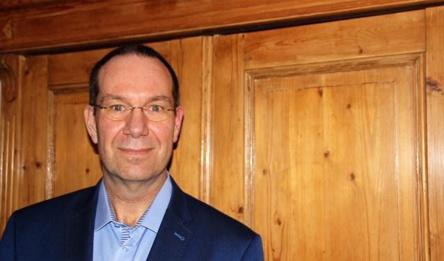 Henry Stulen is de huidige fractievoorzitter van Gemeentbelang, komt niet terug in de nieuwe raad, maar is wel waarnemend lijsttrekker. Foto Dick Baas