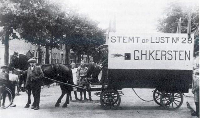 Een eeuw geleden werd in Middelburg de SGP opgericht. In 1922 werd de Middelburgse dominee G.H. Kersten met 26.700 stemmen gekozen in de Tweede Kamer. Hij zou daar blijven tot en met 1945. Foto: PR SGP