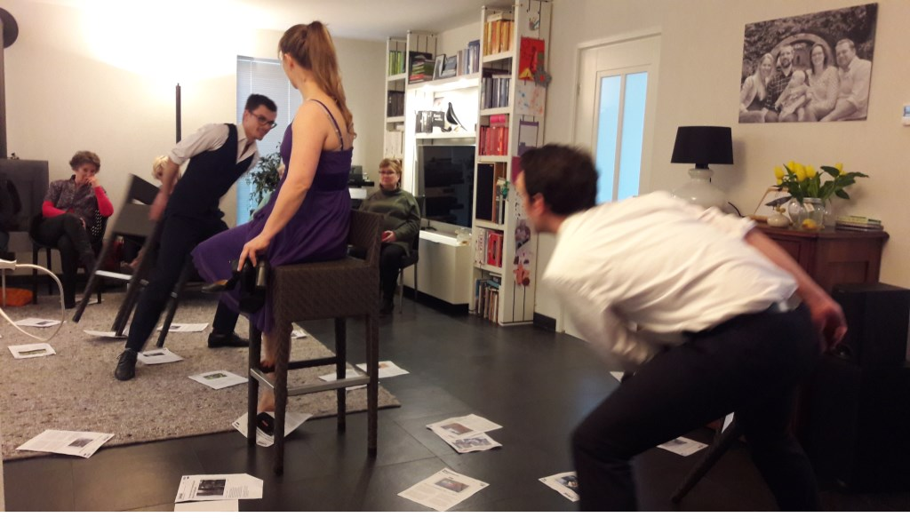 Theatercollectief Physicus.  © Persgroep