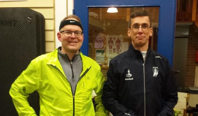 Jan Wessels met trainer Rick Slaghekke.