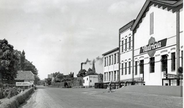 Het centrum van Cuijks is in de loop der jaren flink veranderd. (foto: FAD Cuijk)