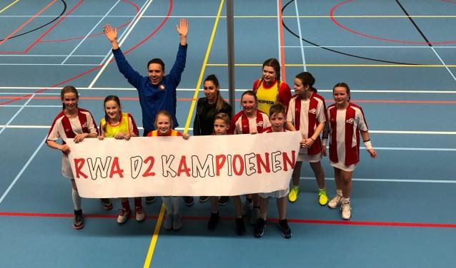 RWA D2 zaalkampioen
