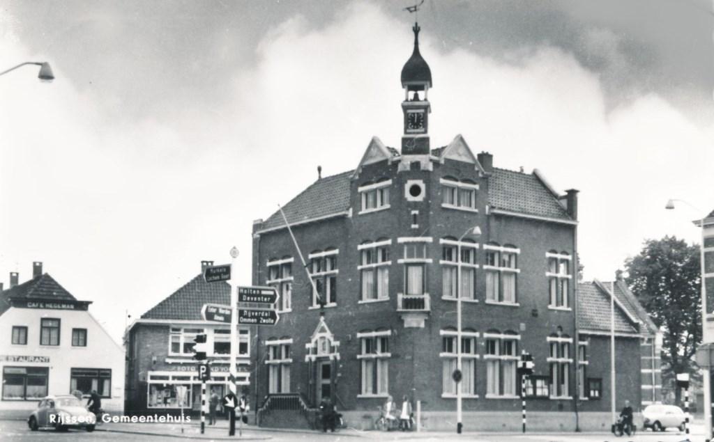 Stadhuis van Rijssen in 1969. Foto: Robert van Kralingen © Persgroep