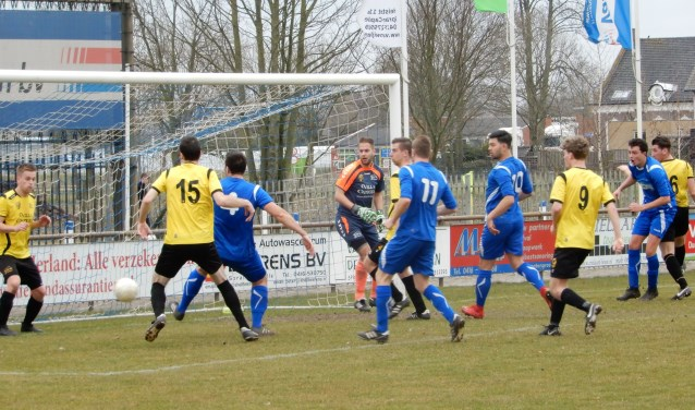 SV Capelle heeft zaterdag met 2-0 gewonnen van GVV'63. Foto: MW fotografie