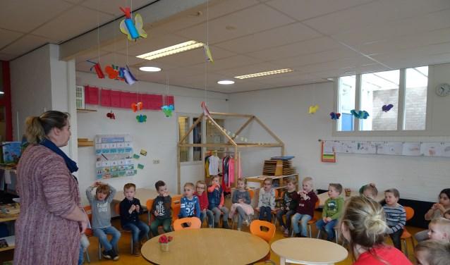 De afgelopen weken werden overal in Eibergen en Rekken gastlessen gegeven om de kinderen te motiveren.