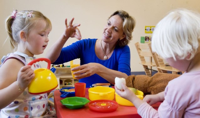 Nieuwe Nobelaer en Kentalis houden op 21 maart een - gratis - infor- matieavond over de spraak- en taalontwikkeling van jonge kinderen.
