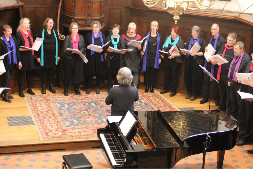 Con Anima bij concert in Waalse Kerk Foto: Ton Langeweg © Persgroep