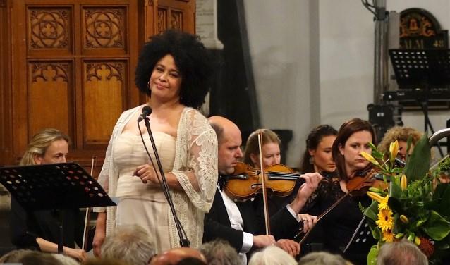 Tania Kross, een opera Diva van wereldformaat, werkt mee aan concerten van Het Zeeuws Orkest. FOTO: PR