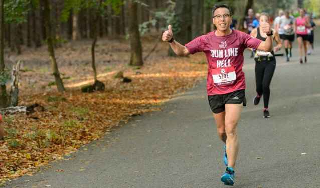 ''Er is geen hardloopwedstrijd in Nederland zoals de Diepe Hel Holterbergloop.'' Dat zijn de woorden van de organisatie van dit  jaar tweedaagse evenement. Foto: Martin Pieters.
