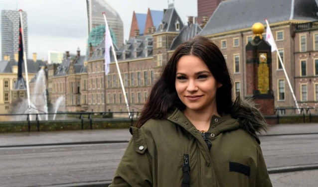 Door het werk van haar vader belandde Natalia González Tejero  enkele jaren geleden in Den Haag. (Foto: Jos van Leeuwen)