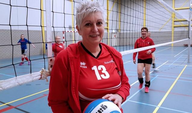 Jaquelune van der Gijp: een leven lang verzot op volleybal.
