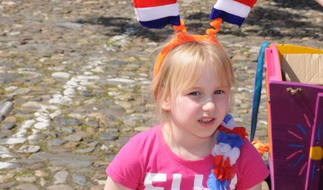 Op 27 april is het weer Koningsdag. Groot feest dus in Barneveld. (Foto Leo Polhuys)
