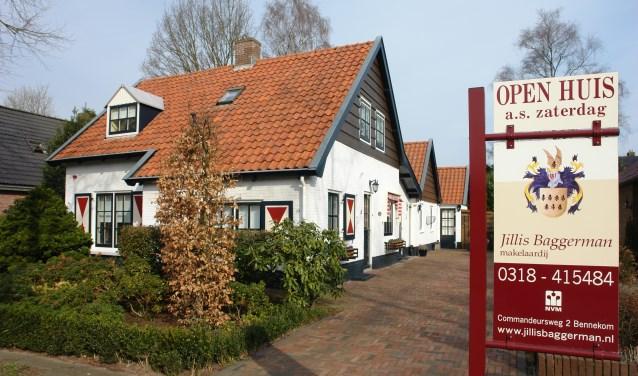 Afgelopen zaterdag hield de Nederlandse Vereniging van Makelaars (NVM) een open huizen dag.