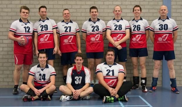 Zaterdag speelt WHV heren 3 in Ouderkerk aan de IJssel tegen Voleco. Eigen fpto