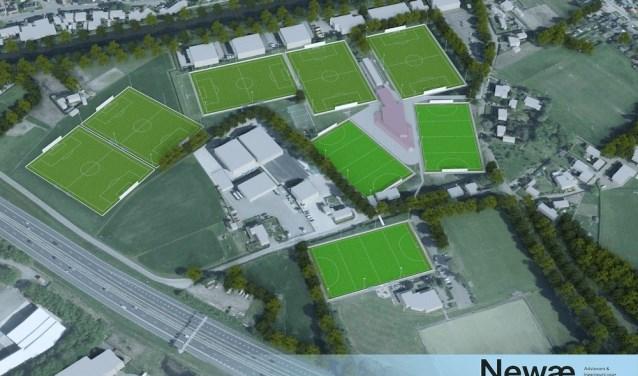 De clubs vragen de gemeente te investeren in de velden, welke vervolgens worden verhuurd aan de clubs.