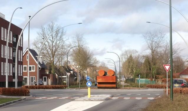 'Houtwagon' maakt de herinrichting van de Europalaan echt 'af'. Het kunstwerk wordt naar verwachting komende zomer geplaatst.
